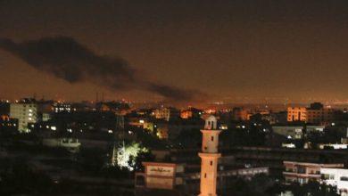 قصف قطاع غزة
