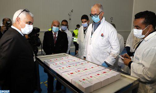 """أفادت وزارة الصحة بأن المغرب توصل، اليوم الأربعاء، بأول دفعة من لقاح سينوفارم الصيني للتطعيم ضد وباء """"كوفيد -19"""". وذكرت بأن لقاح سينوفارم ح"""