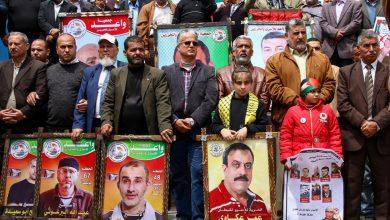 """أحيت فصائل فلسطينية في قطاع غزة، اليوم الإثنين، الذكرى السنوية العاشرة لصفقة تبادل الأسرى المعروفة باسم """"وفاء الأحرار"""" بين حركة """"حماس"""" و(إ"""